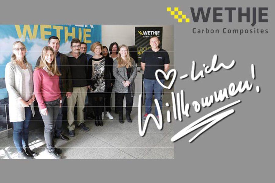 Welcome Day bei der Wethje GmbH