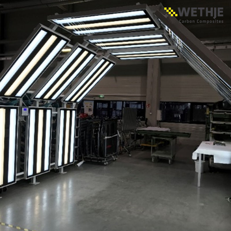 Lichttunnel der Wethje GmbH