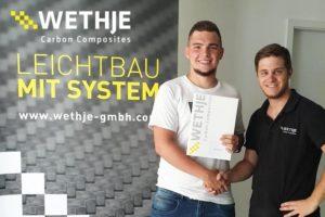 Azubi Abschlussprüfung bei der Wethje GmbH