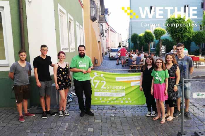 Wethje beteiligt sich an der 72-Stunden-Aktion des BDKJ
