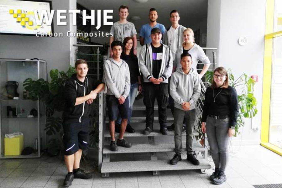 Azubi-Start – Wir heißen unsere neuen Auszubildenden bei Wethje herzlich willkommen!