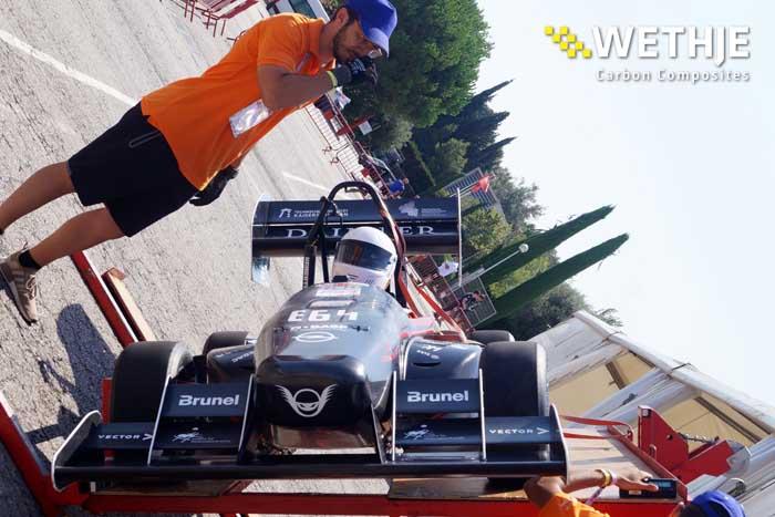 KaRaT-Rennwagen Teststand