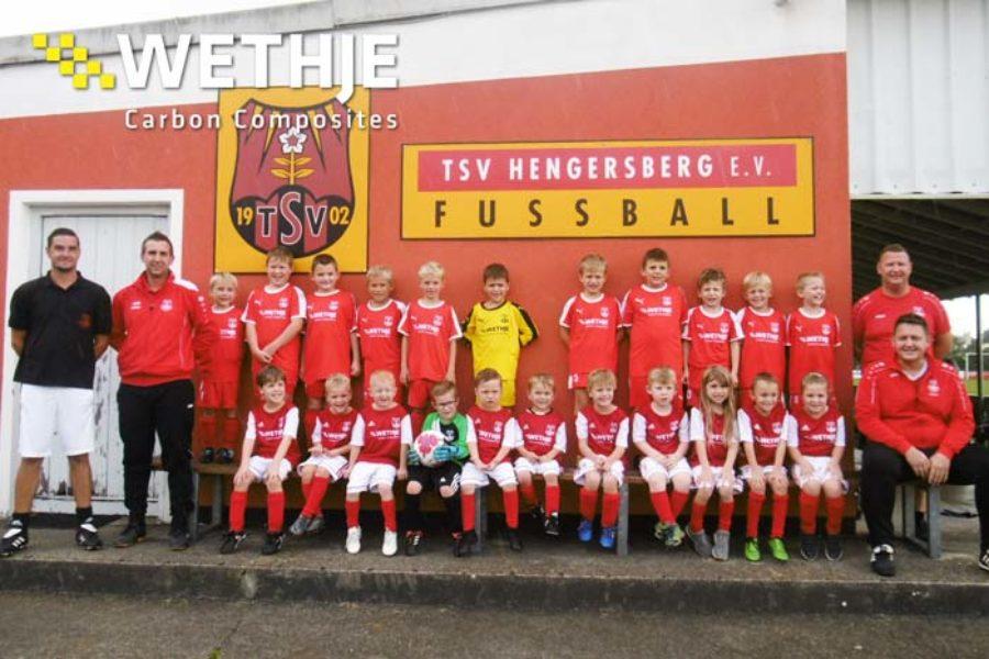 Unterstützung des TSV Hengersberg – G- und F-Jugend
