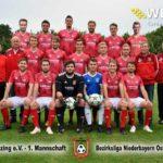 Mannschafts-Gruppenbild des FC Künzing