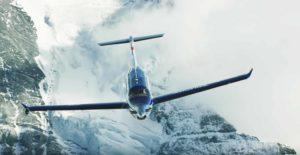 Pilatus Aircraft Cockpit der PC-12 NGX - Im Flug