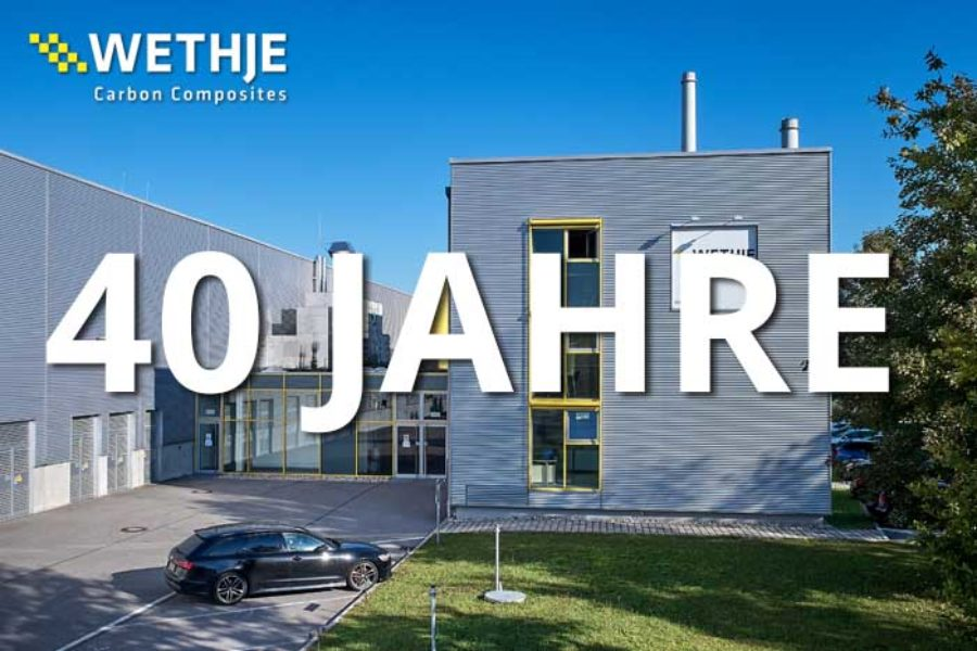 40-jähriges Jubiläum der Wethje Carbon Composites GmbH