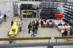 40-jähriges Jubiläum der Wethje GmbH - Buffet in Betriebshalle