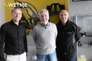 40-jähriges Jubiläum der Wethje GmbH - Teamfoto