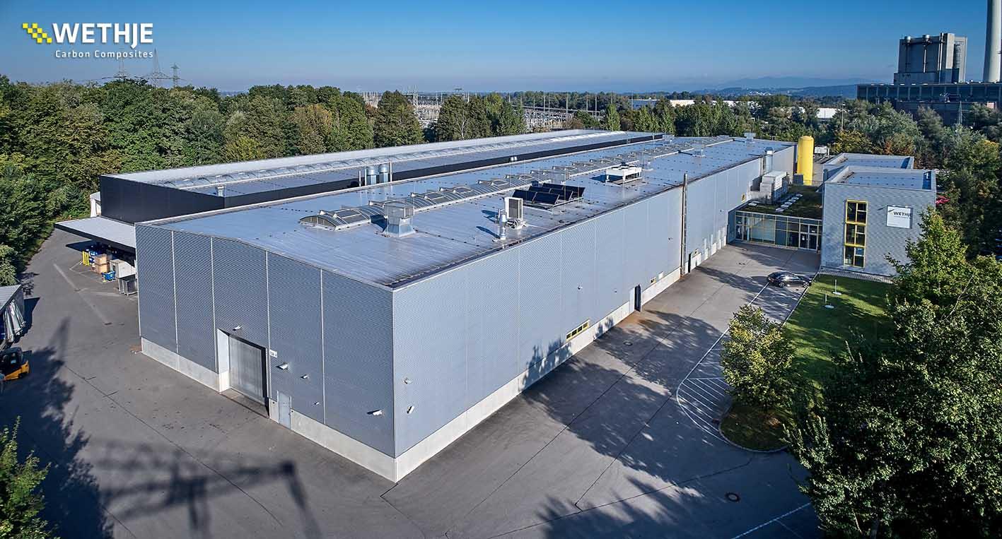 Luftaufnahme Firmengebäude Pleinting