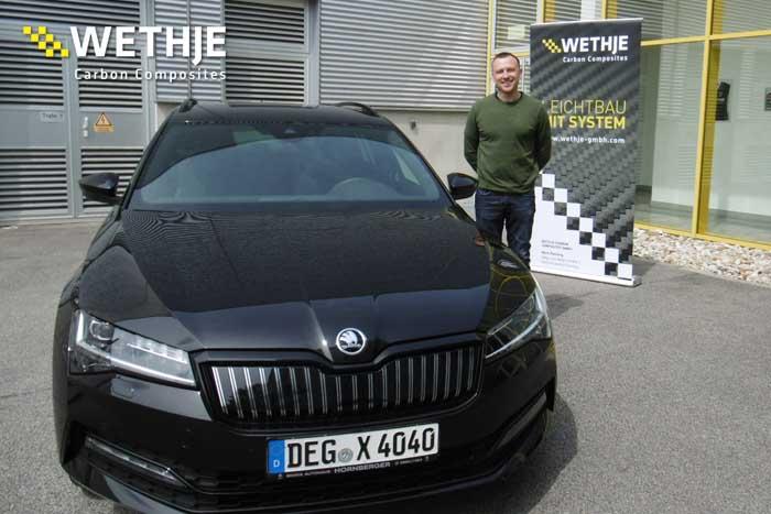 Wethje Carbon Composites – Bei uns beginnt die Zukunft mit Plug-In Hybrid