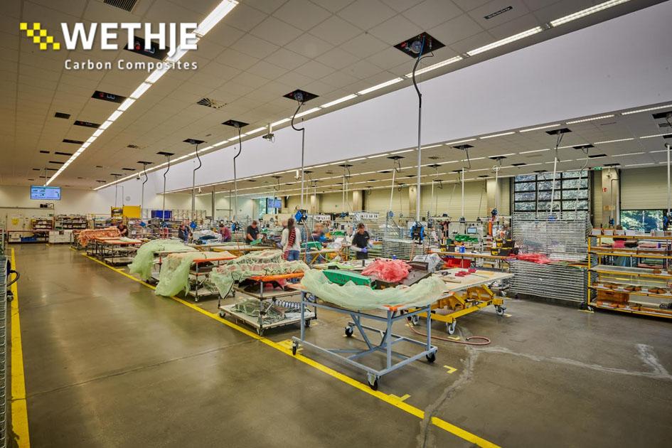Laminieren bei der Wethje GmbH