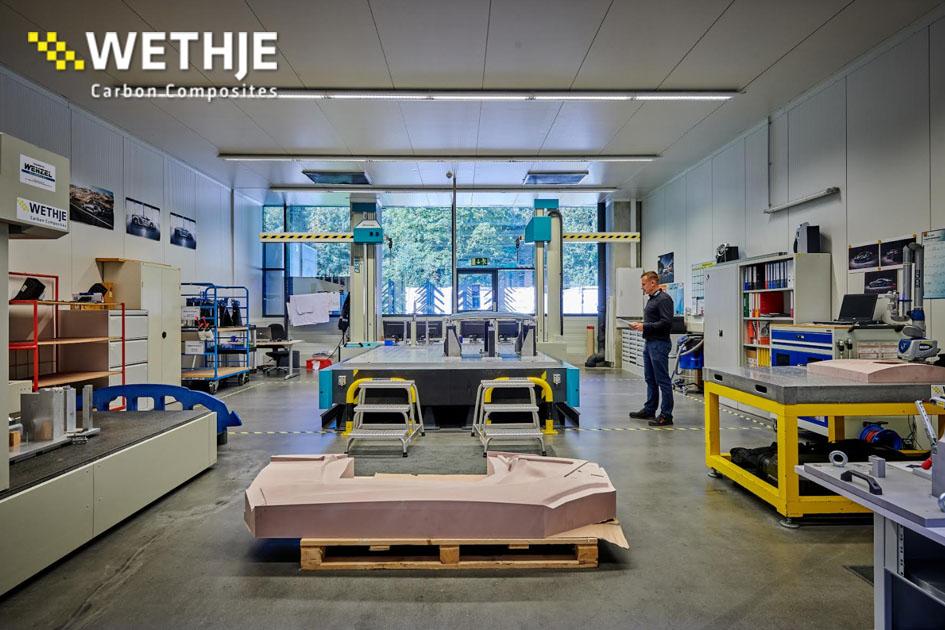 Teil der Produktion der Wethje GmbH