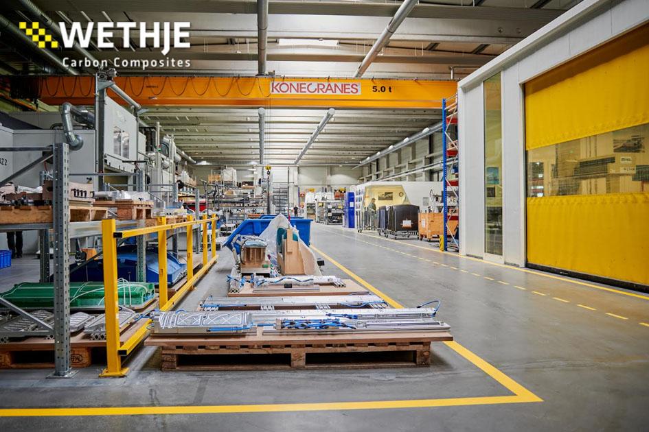Produktionshallte der Wethje GmbH
