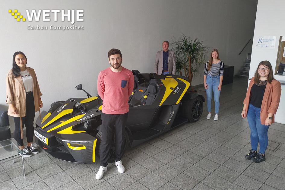 Azubistart 2020 bei der Wethje GmbH