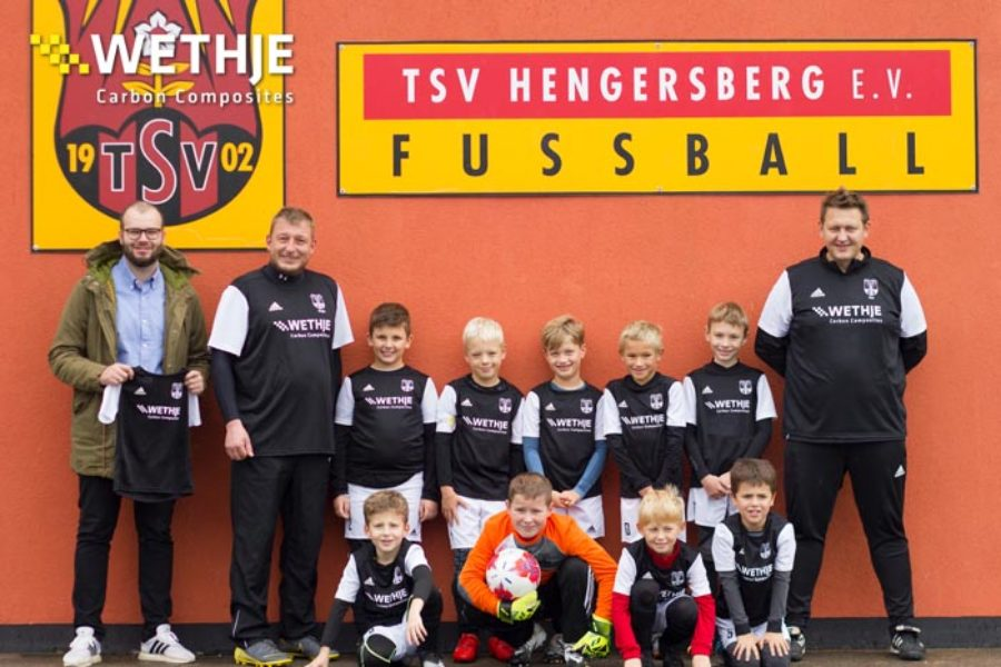 Trikot-Sponsoring für die F-Jugend des TSV Hengersberg