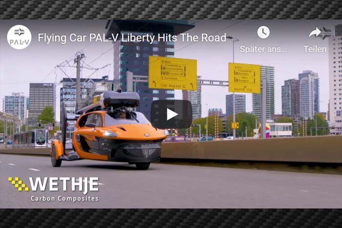 PAL-V Liberty hat die strengen Straßenzulassungsprüfungen bestanden!