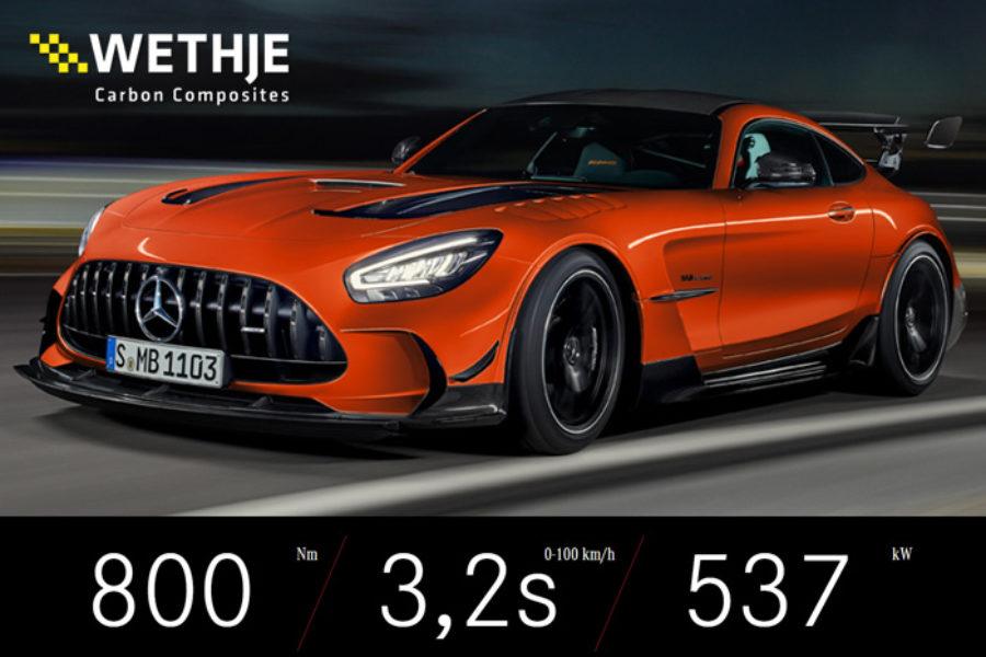 Wir bauen Teile für den Mercedes-AMG GT Black Series