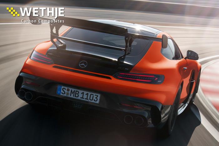 Mercedes-AMG Black Series Heckansicht
