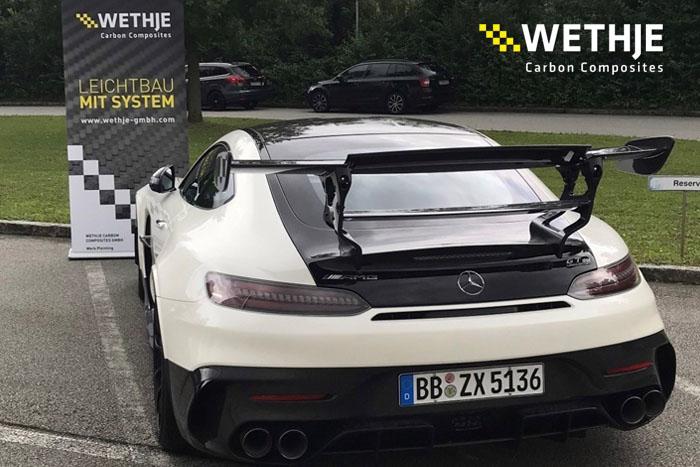 Mercedes AMG GT Black Series zu Besuch bei der Wethje GmbH